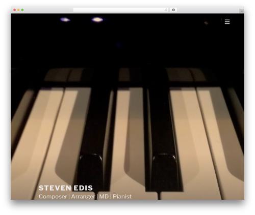 Theme WordPress Twenty Seventeen - stevenedis.com