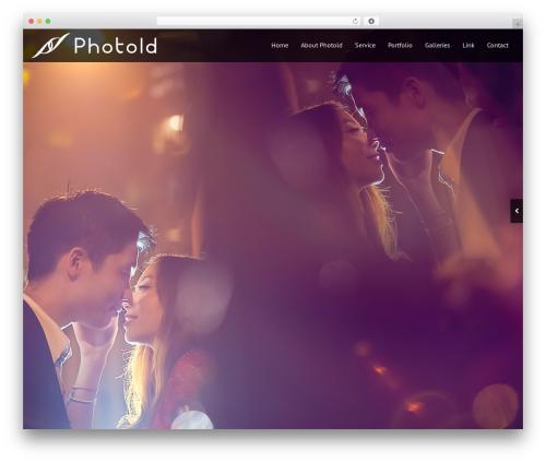 Black Label best wedding WordPress theme - photoldstudio.com