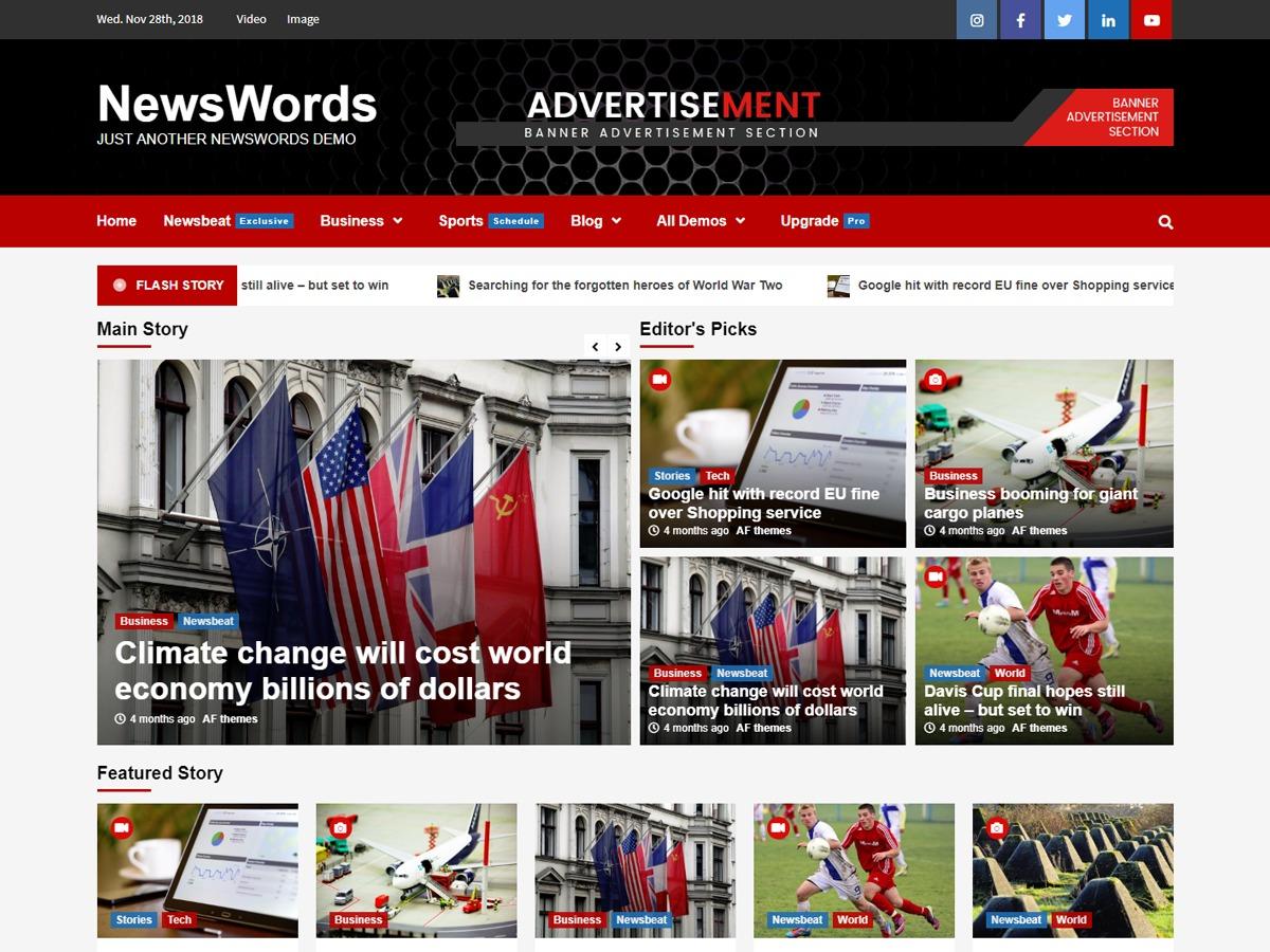 NewsWords best WordPress gallery