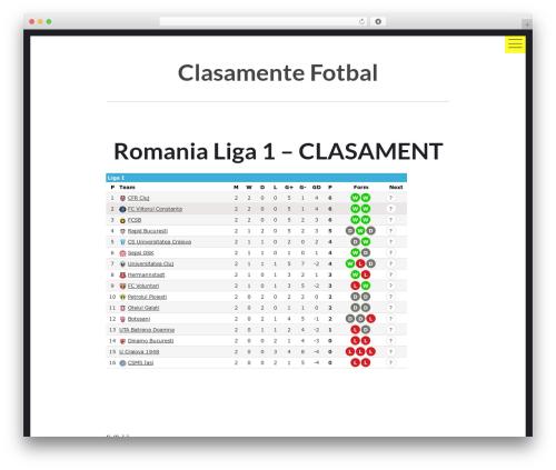 Theme WordPress hexo - clasamente-fotbal.info
