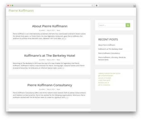 showme WordPress page template - pierrekoffmann.co.uk