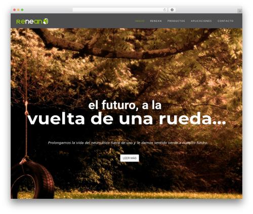 Wp Haswell WordPress theme design - renean.com