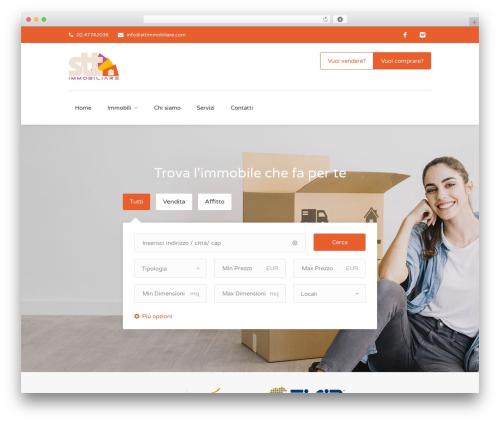 Findeo WordPress theme design - sttimmobiliare.com