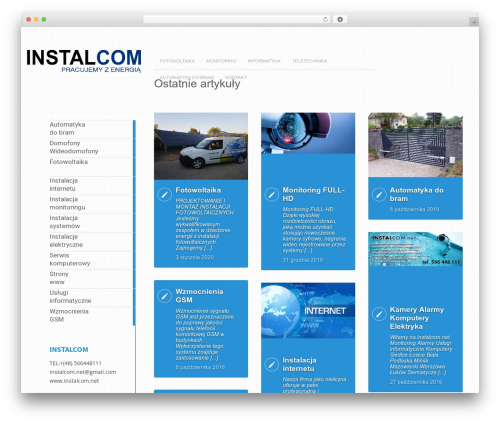 Metro CreativeX best WordPress theme - instalcom.net