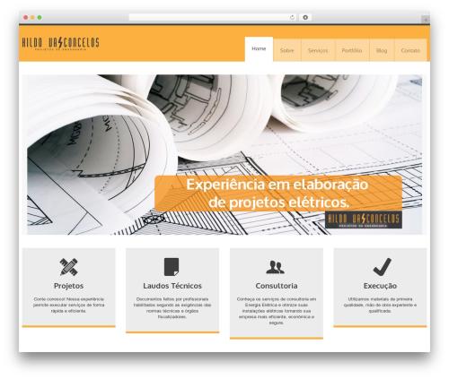 Theme WordPress YellowProject Multipurpose Retina WP Theme - projetoeletrico.com.br