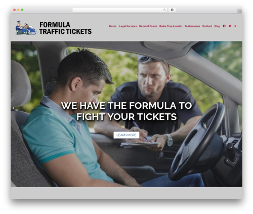 Business Pro Theme company WordPress theme - formulatraffic.com