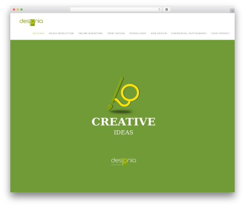 Theme WordPress Modular - designia.ro