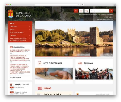 TownPress WordPress theme design - catoira.gal