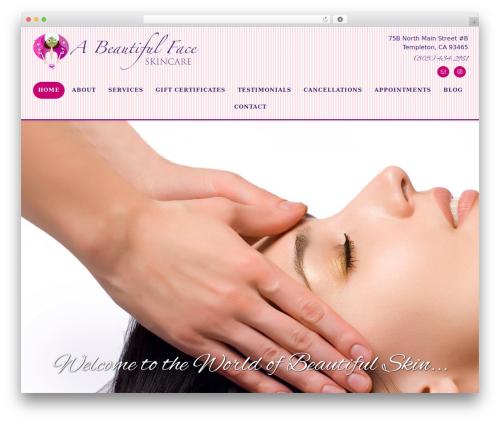 Altitude Pro WordPress page template - beautifulface.biz