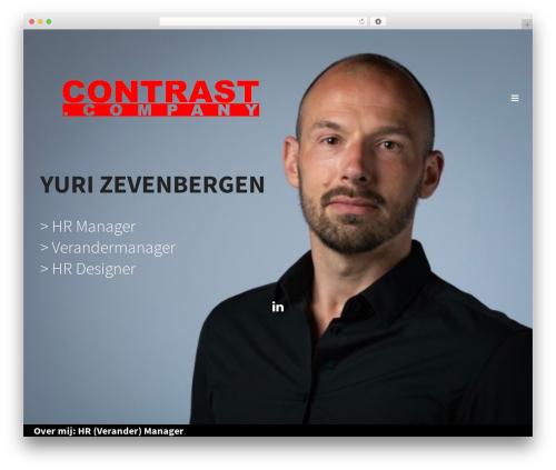Jupiter company WordPress theme - contrast.company