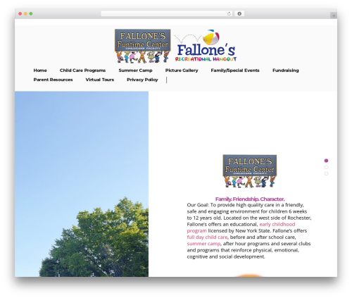 Template WordPress Pitch - fallonesfuntime.com