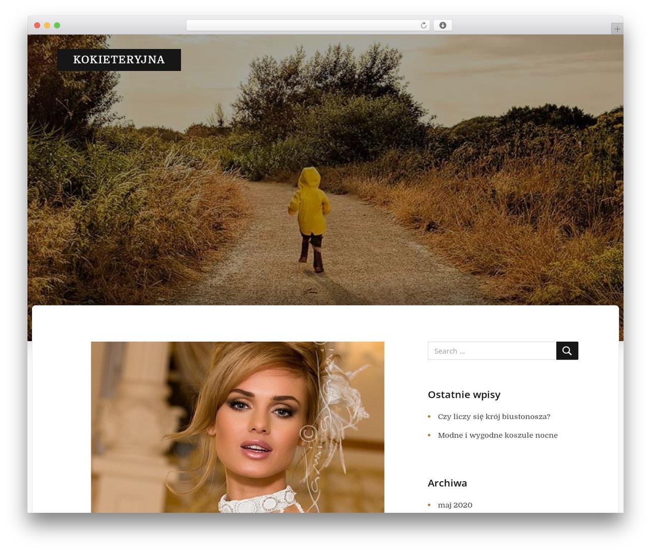 Typit WordPress page template - kokieteryjna.pl