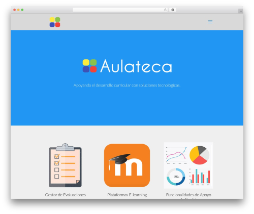 WordPress theme Betheme - aulateca.com