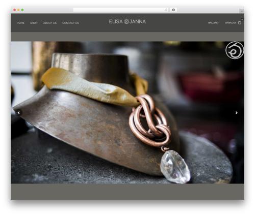 WordPress theme Oasis - elisajanna.com