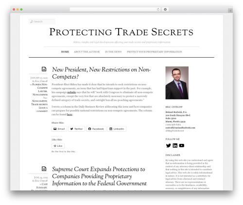 WP template Elemin - protectingtradesecrets.com