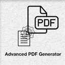 Free WordPress Advanced PDF Generator plugin by jcmlmorav