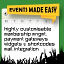 Free WordPress Events Made Easy plugin