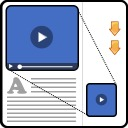 Free WordPress Floating Video plugin by jefferey11