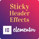 Free WordPress Sticky Header Effects for Elementor plugin