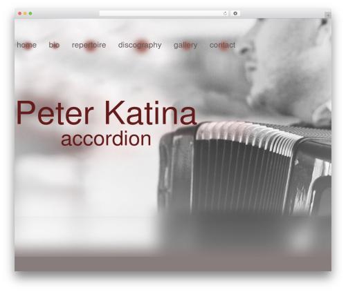 Gantry Theme for WordPress theme WordPress - peterkatina.sk