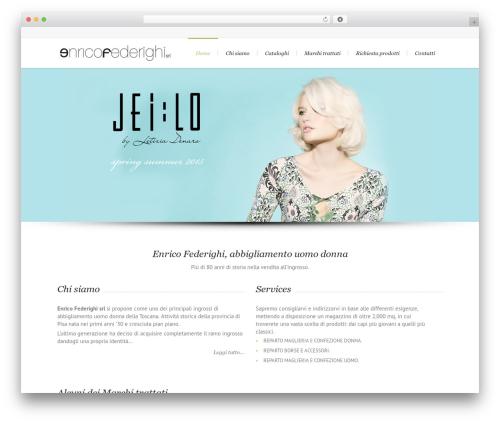Lounge WordPress page template - enricofederighi.it