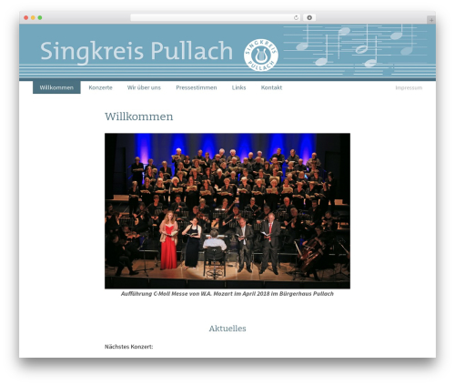 Twenty Thirteen free WordPress theme - singkreis-pullach.de