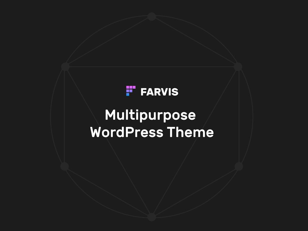 WordPress theme Farvis