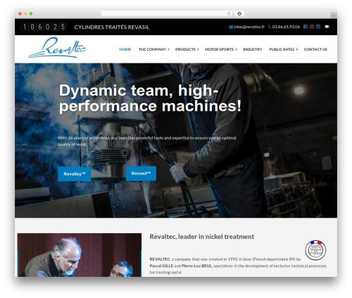 Theme WordPress Factory Crazycafe - revaltec.com