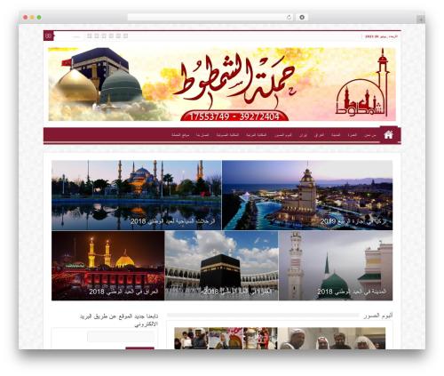 WordPress website template Sahifa (shared on wplocker.com) - shamtoot.net