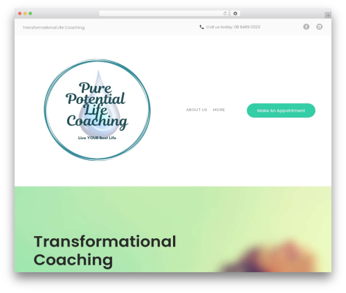WP template counselor - purepotentiallife.com