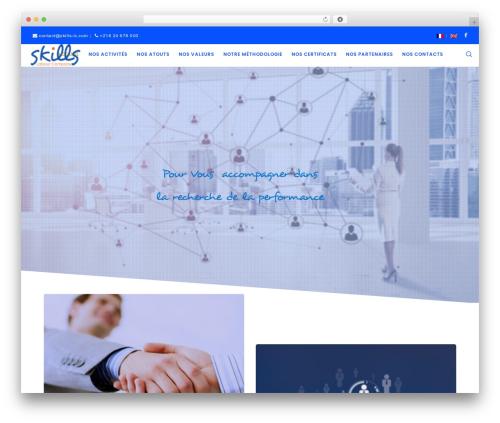 Movedo theme WordPress - skills-lc.com