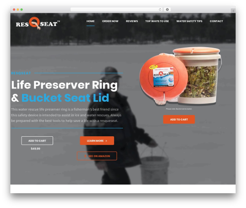 Shopscape WordPress shopping theme - resqseat.com