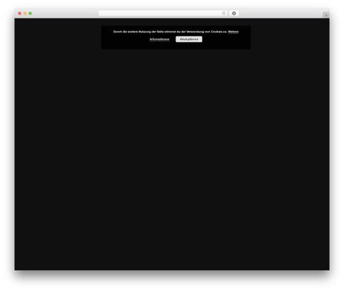 Theme WordPress Salient - andreas-lorenz-showband.de