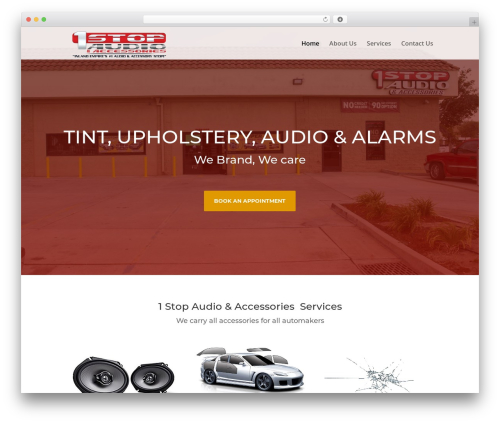 WordPress theme EZ Theme - 1stopaudioaccessories.com