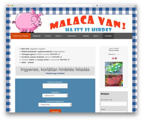 GeneratePress WordPress theme free download - malacavan.com