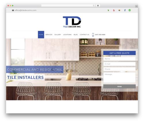WordPress theme TileMax - tiledecorinc.com