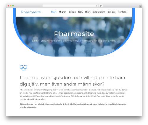 Best WordPress template Divi - pharmasite.se
