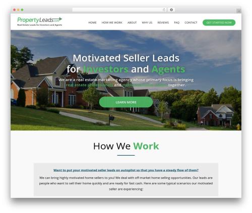 Divi template WordPress - propertyleads.com