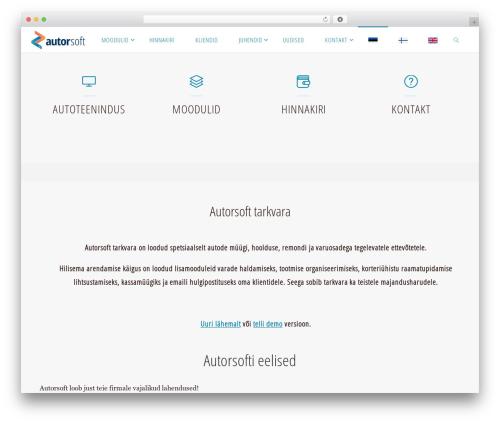 Fluida free WP theme - autorsoft.eu
