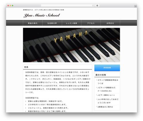 responsive_242 top WordPress theme - you-music.school