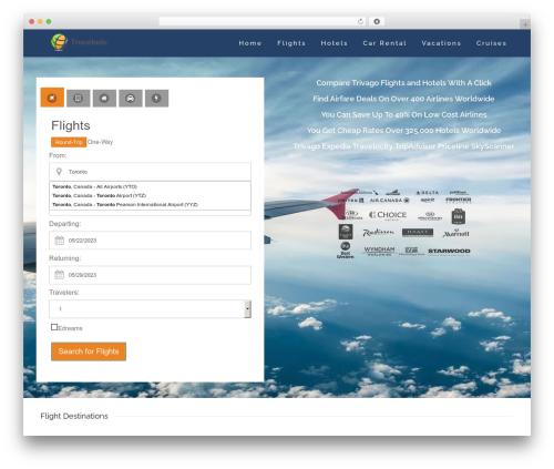Skylar motors WordPress theme - travelado.com