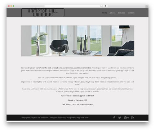 Theme WordPress Divi - hamptonhillwindows.com
