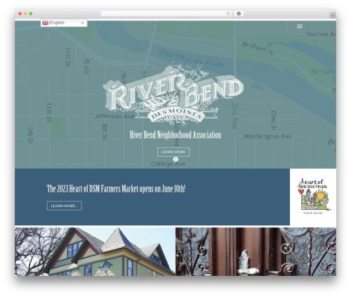 WordPress theme Divi - riverbendneighborhood.org