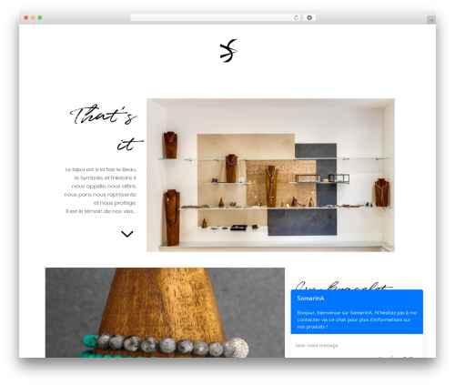 Bazaar WordPress theme - somarina.mc