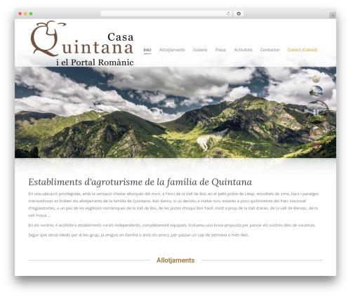 Best WordPress template The7 - casaquintana.net