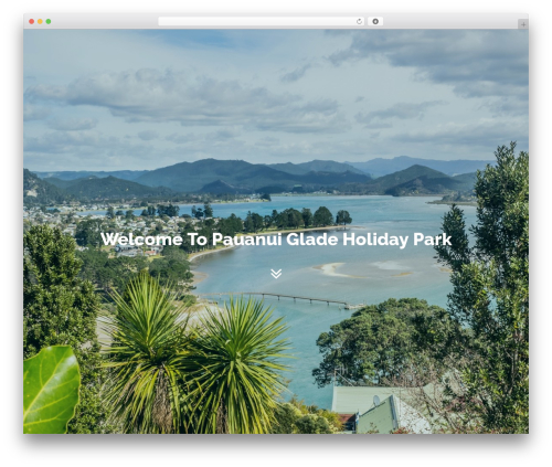 Custom-G WordPress theme design - pauanuiglade.co.nz