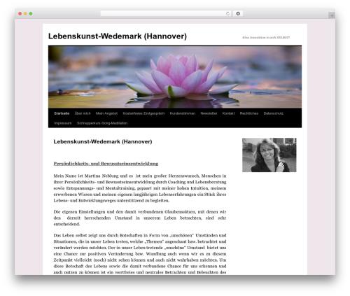 Twenty Ten best WordPress template - lebenskunst-wedemark.de