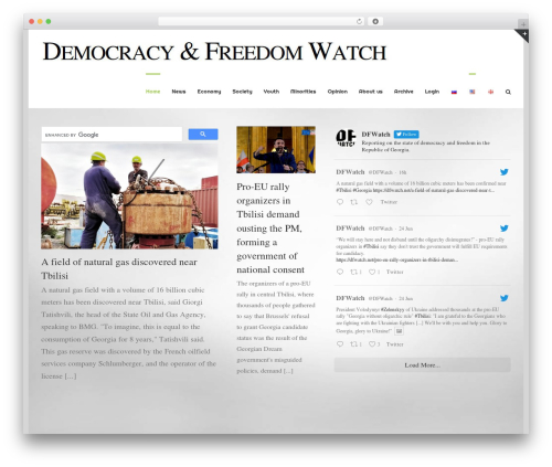 Avada best WordPress template - dfwatch.net