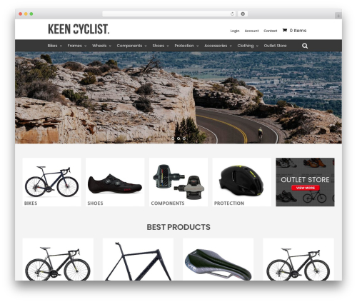 WordPress sitemap-with-woocommerce plugin - keencyclist.com