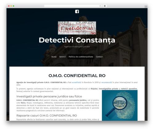 Fara theme WordPress free - detectiviconstanta.com